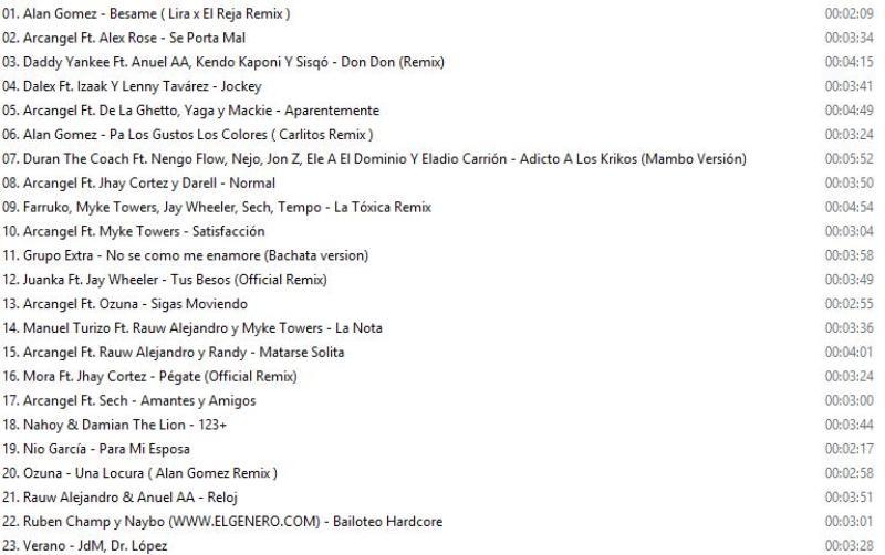 Reggaeton Latino Hits Vol.64 ( October -2020 )