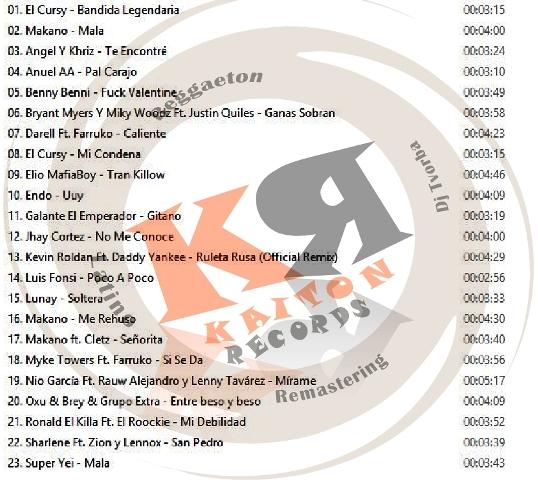 Reggaeton Latino Hits Vol.44 ( February-2019 )